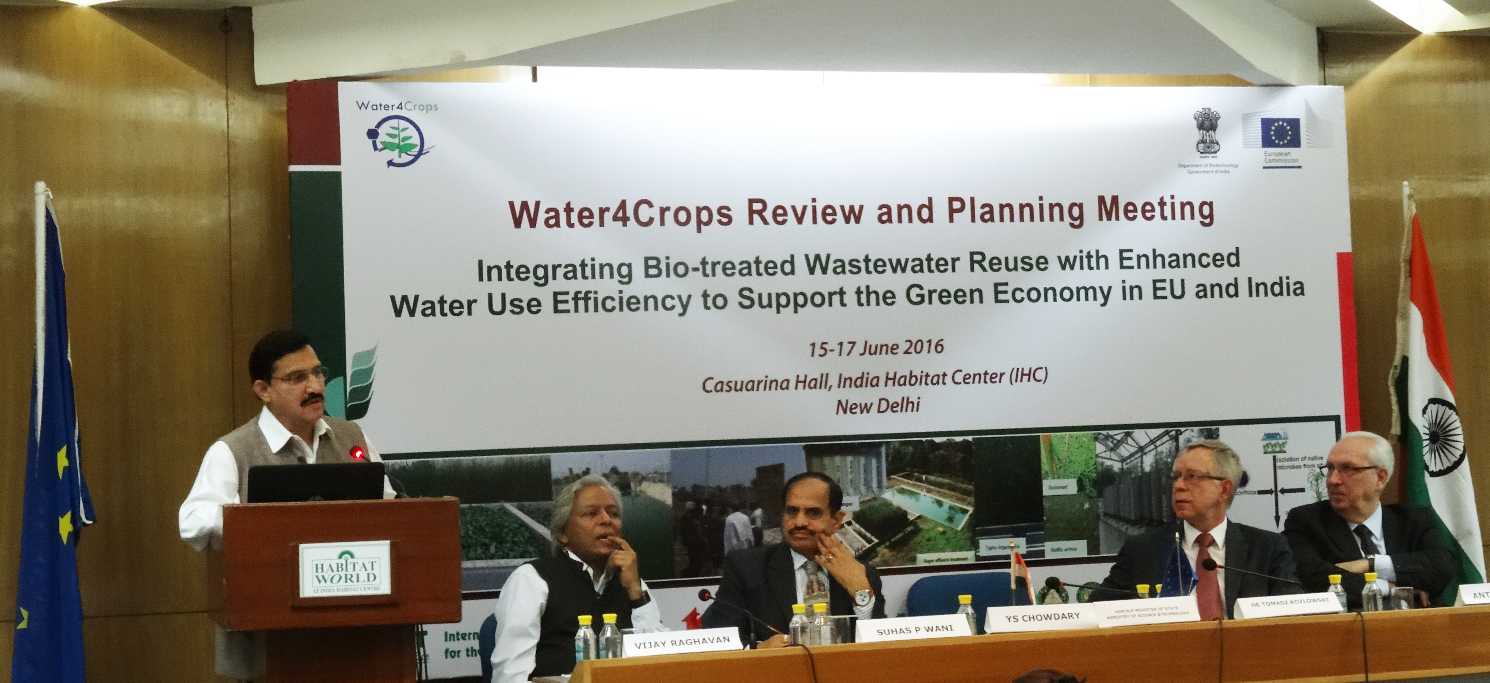 Water4Crops Review and Planning Meeting. (Photo: IDC, ICRISAT)